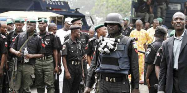 JUST IN: End Of Democracy In Nigeria, As Suspended Powerful 'Aso Rock Cabal' Breaks Into Office Premises With Teargas and Policemen, Under President Buhari's Watch