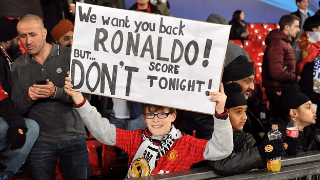 Manchester United worried about Ronaldo's Champions League return