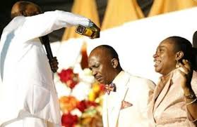 WOW! Bishop Oyedepo Anoints Pastor Enenche On The New Massive Church