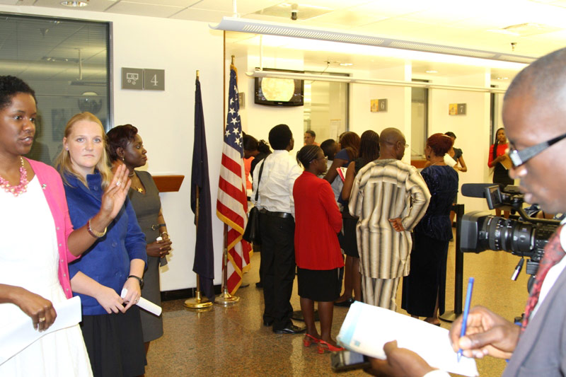 OH NO! Thousands Of Nigerians Stranded As US Embassy In Nigeria Shuts Down Indefinitely; Their Reason For Doing So Is Related To Trump!