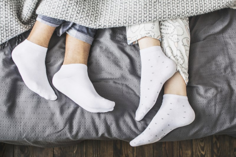 Recent medical research reports reveals how socks help you sleep better