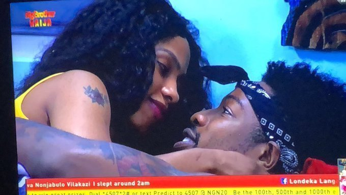 BBNaija: 'Never Let Go' – Mercy Tells Ike As They Cuddle In Bed [Video]