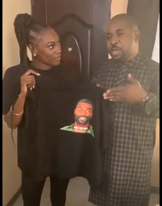Hilarious Video: Mike's wife meets MC Oluomo in Lagos
