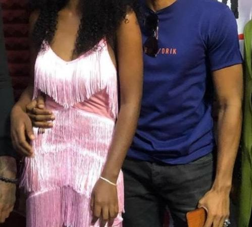 BBNaija: Fans React As Diane And Elozonam Were Spotted Together Loved Up After Eviction (Photo)