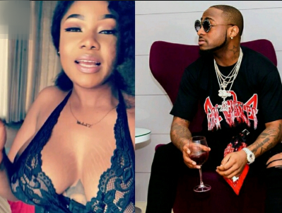 BBNaija: What Tacha Did To Tattoo Of Davido On Her Chest [PHOTOS]