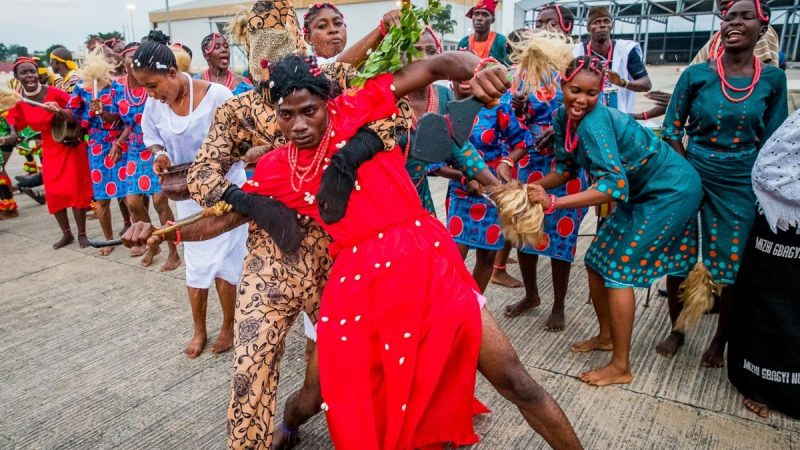 THE NIGERIAN DANCE- the story of the monkey spirits