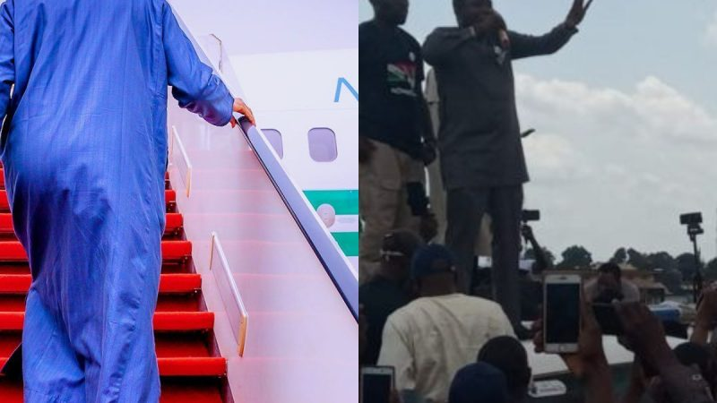 Buhari Flies Out Of Nigeria As Yoruba Nation Protest Holds Tomorrow, Sultan Begs Nigeria Not To Break Up