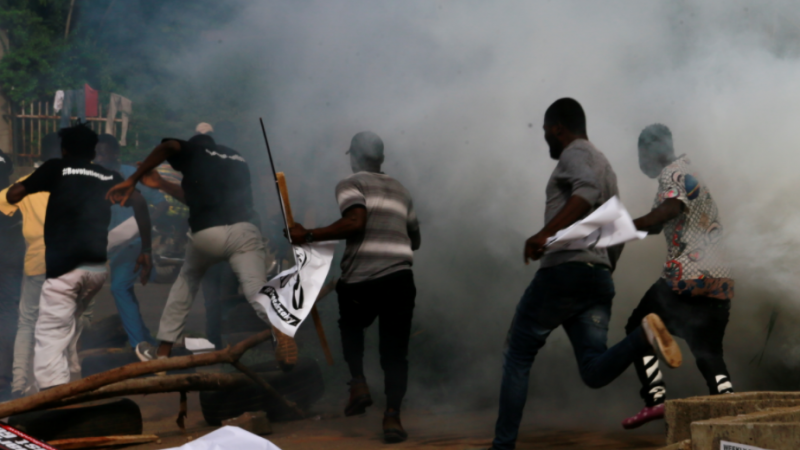 At Least 14 Dead As Police Fire Teargas At Lekki Tollgate Protesters